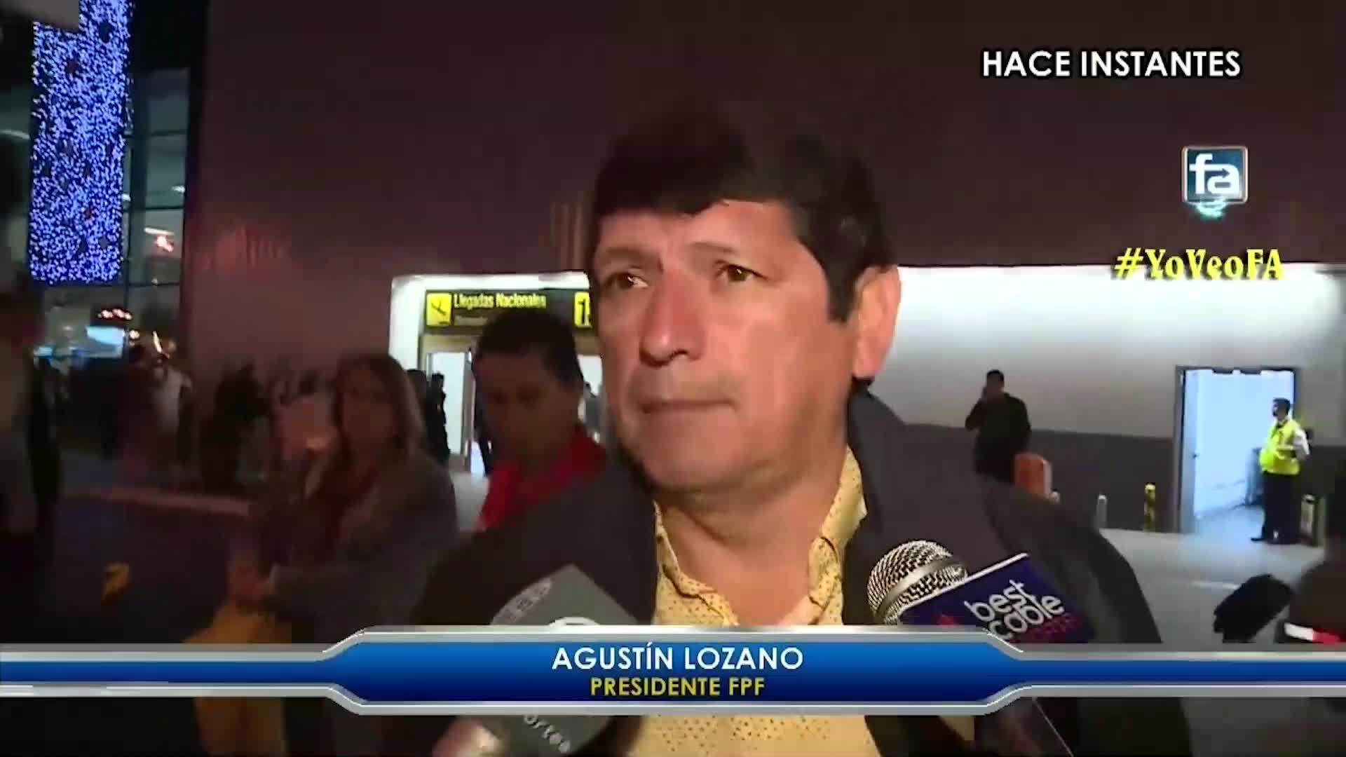 """Agustín Lozano responde a las críticas de Bengoechea sobre el VAR """"Un buen profesional no busca excusas"""""""