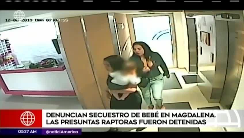 Magdalena: dos mujeres intentaron raptar a un bebé