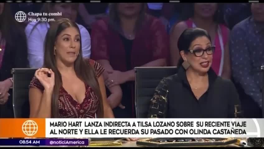 Tilsa Lozano le recordó a Mario Hart romance con conocida modelo