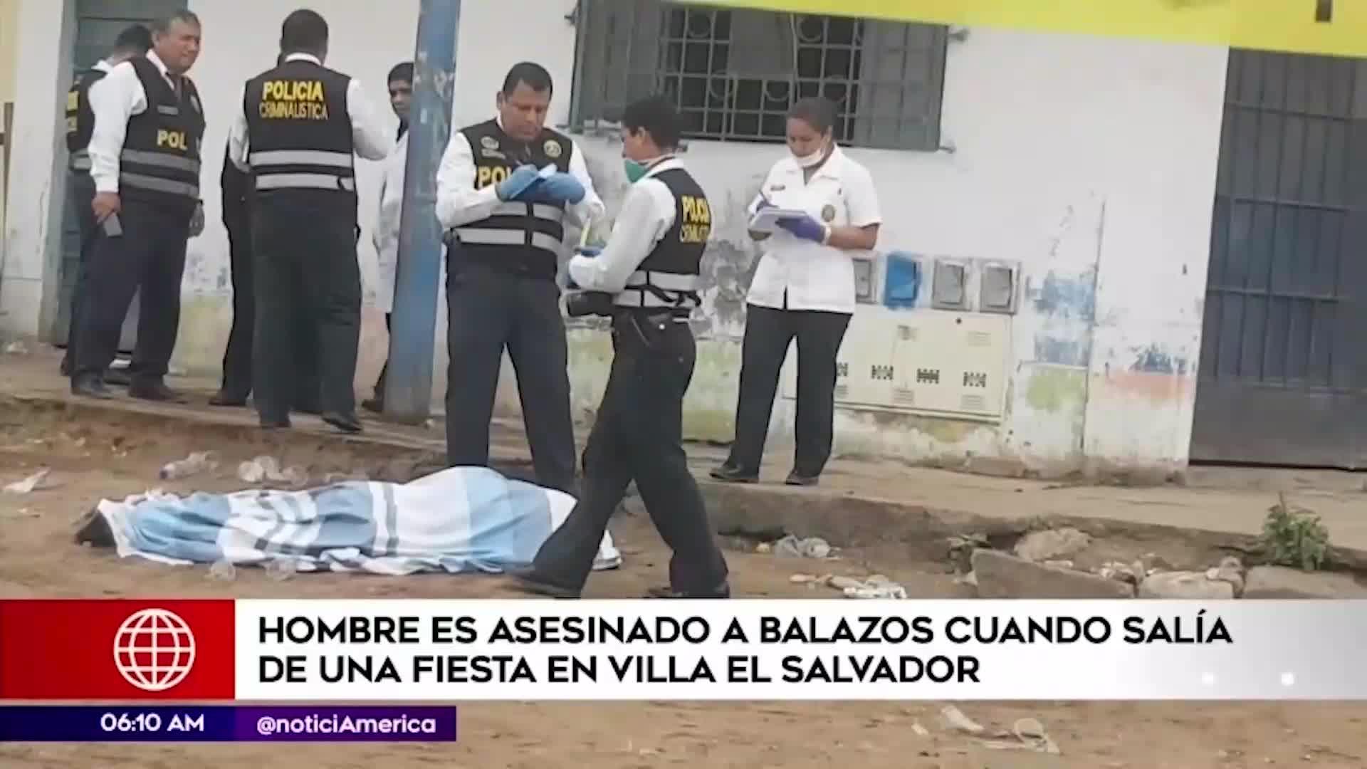 Villa El Salvador: asesinan a hombre cuando salía de concierto