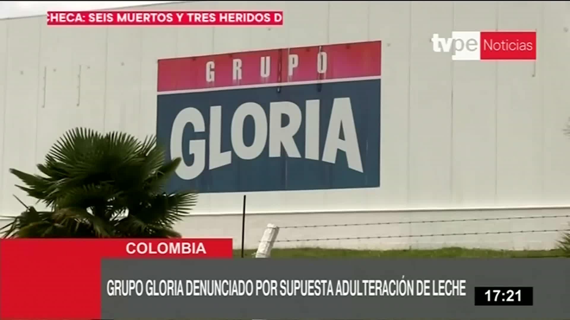 Grupo Gloria es denunciada en Colombia por supuesta adulteración de leche