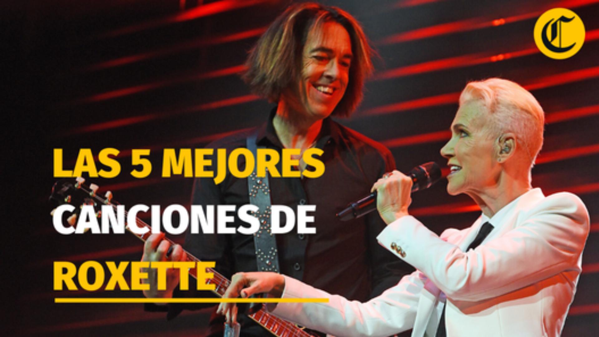 Las 5 mejores canciones de Roxette [VIDEO]