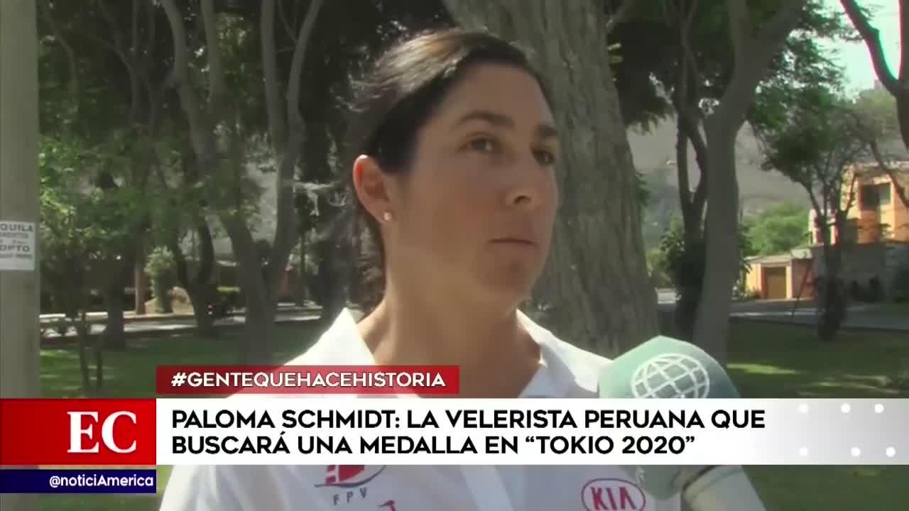 Paloma Schmitd, la velerista peruana que nos representará en Tokio 2020