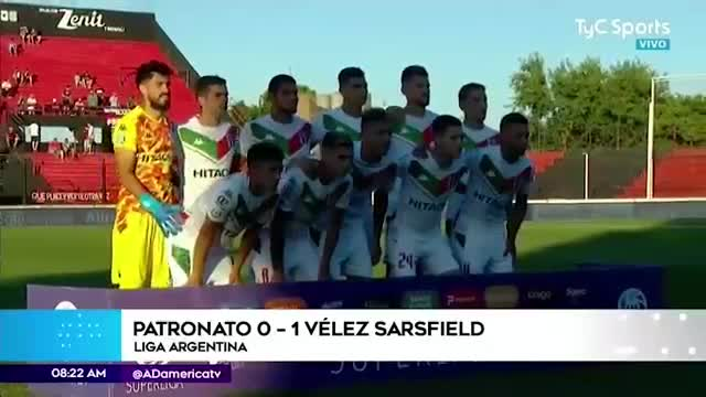 Luis Abram participa en importante victoria de Vélez Sarsfield
