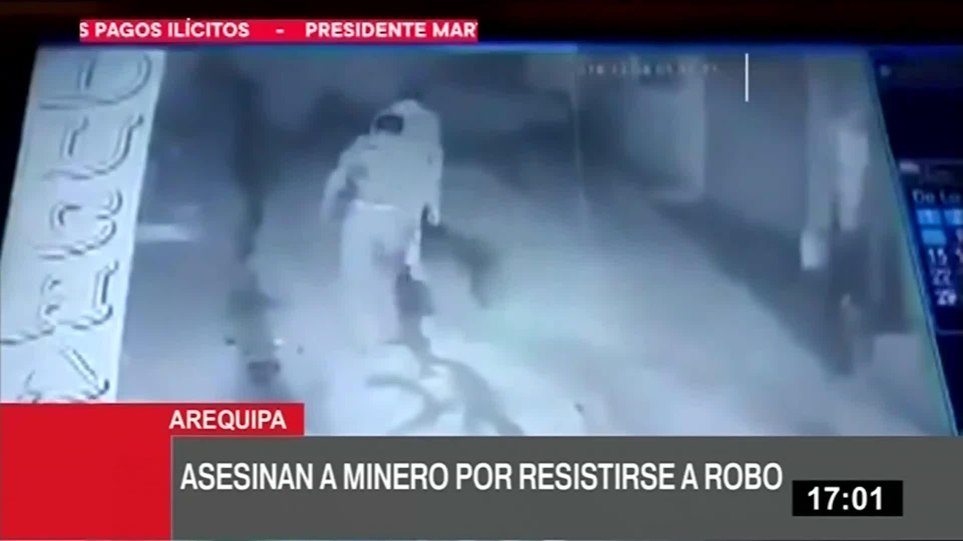Arequipa: Pobladores queman bares y cantinas tras crimen de minero