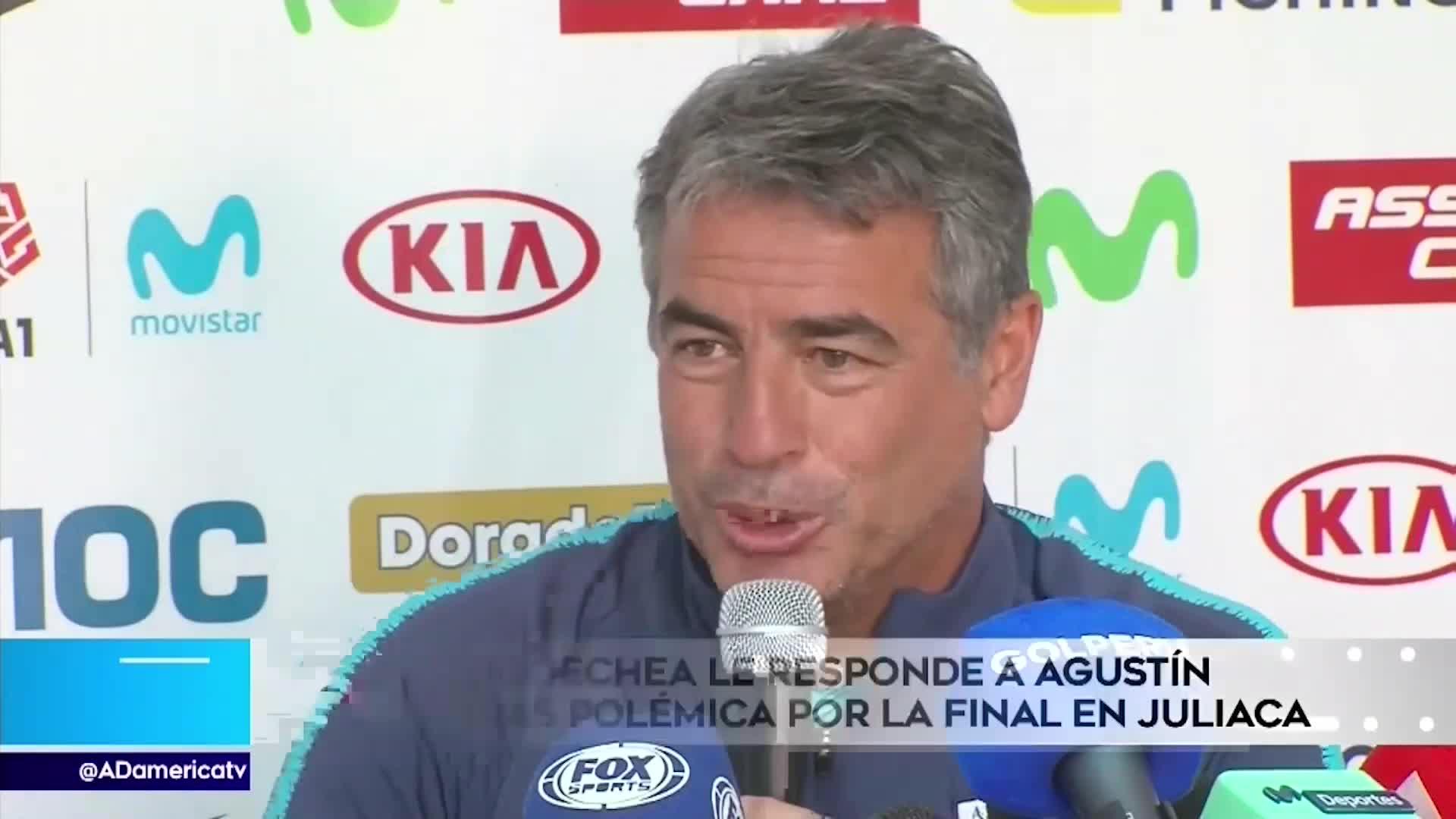"""Bengoechea le responde a Agustín Lozano: """"Puedo ser un mal técnico, pero cumplo la ley"""""""