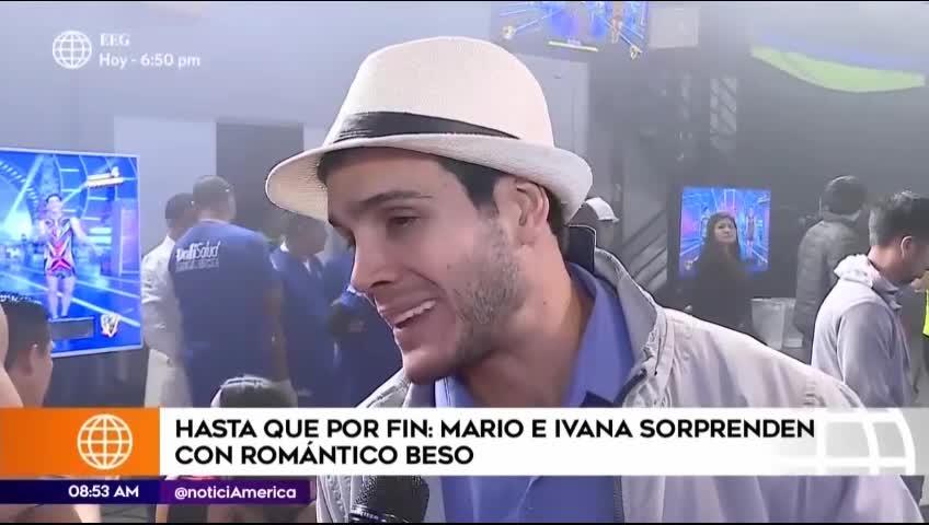 EEG: Mario Irivarren responde sobre apasionado beso con Ivana Yturbe