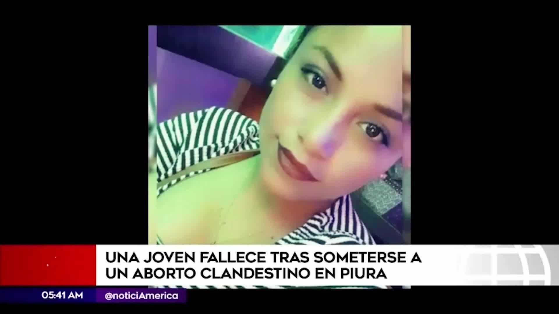 Una mujer de 29 años murió tras someterse a un aborto clandestino en Piura
