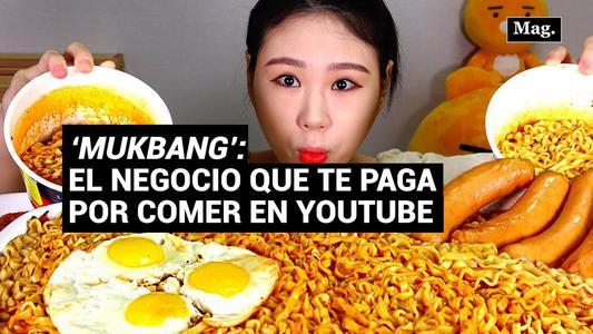"""""""Mukbang"""", el negocio de los """"youtubers"""" que paga por comer sin parar frente a la cámara"""