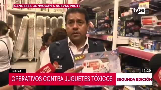 Piura: Comercios que vendan juguetes tóxicos serán multados y clausurados