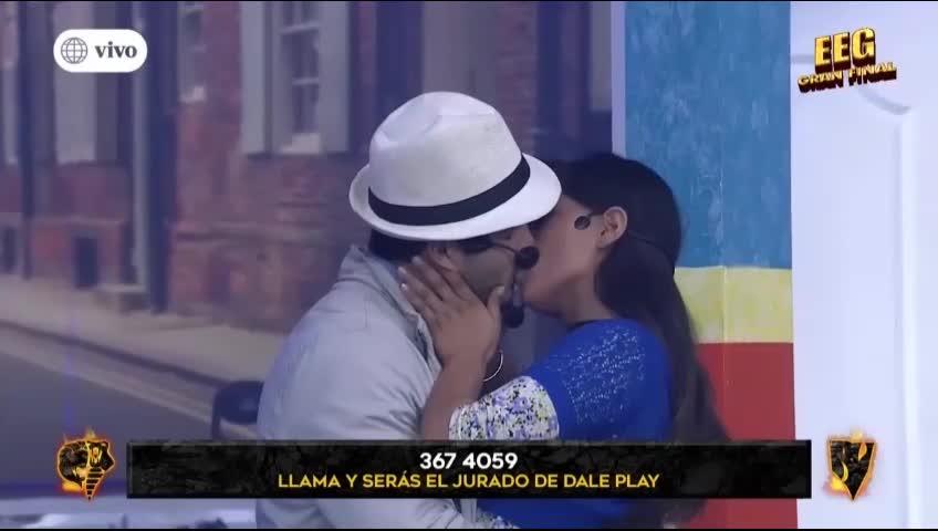 Ivana Yturbe y Mario Irivarren protagonizaron un romántico beso en 'Esto es Guerra'