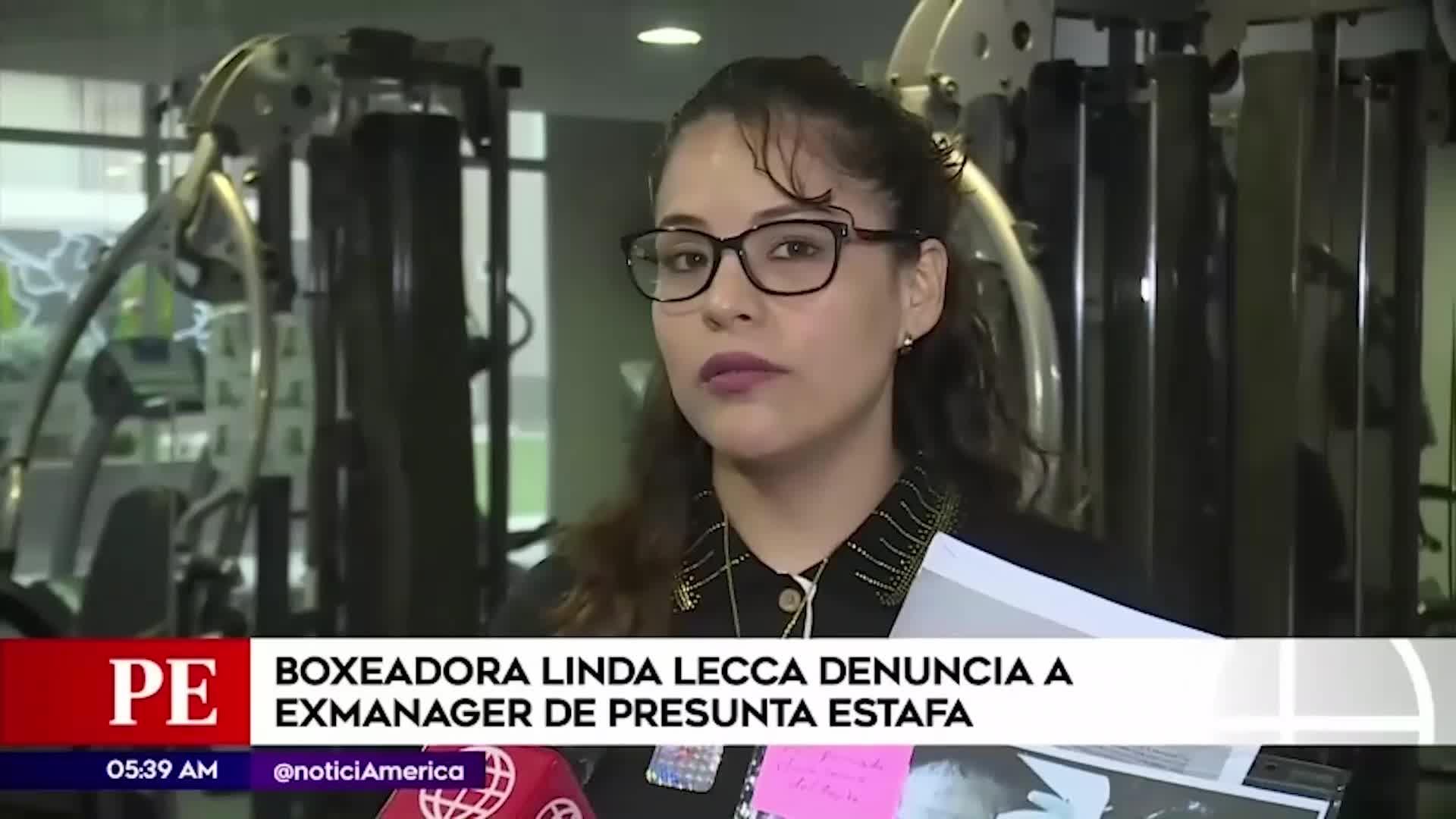 Boxeadora Linda Lecca denuncia a su exmanager por estafa