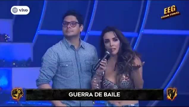 EEG: Rosángela Espinoza se molestó con la Chola Chabuca y discuten en vivo