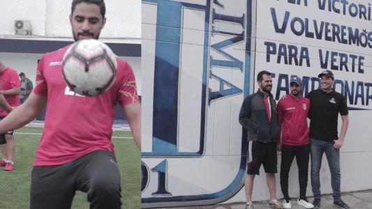 Alianza Lima: empresario árabe visita estadio 'Matute' y disputa partido de fútbol con George Forsyth