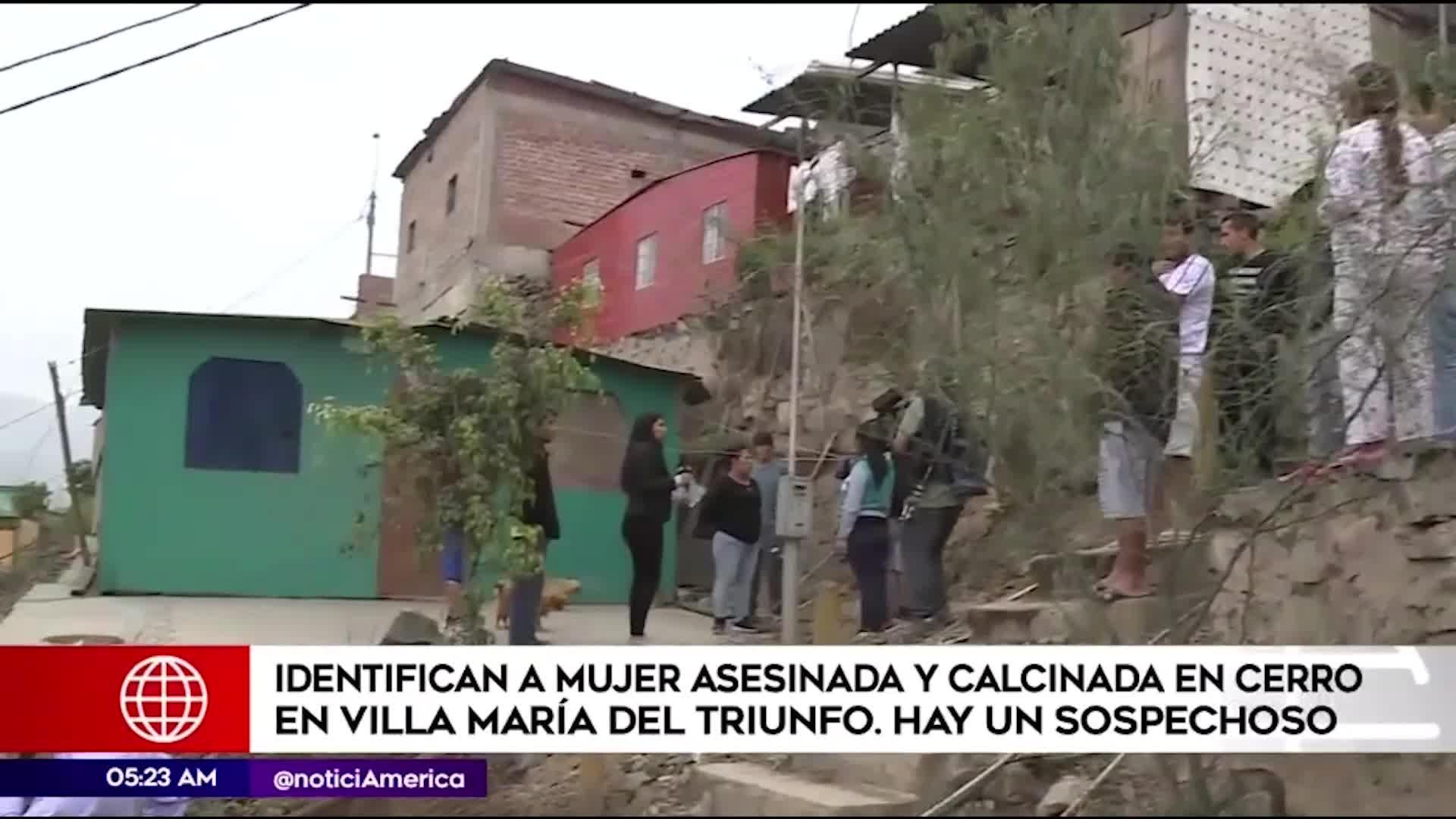 VMT: Identifican a mujer que fue hallada calcinada en el cerro Centinela