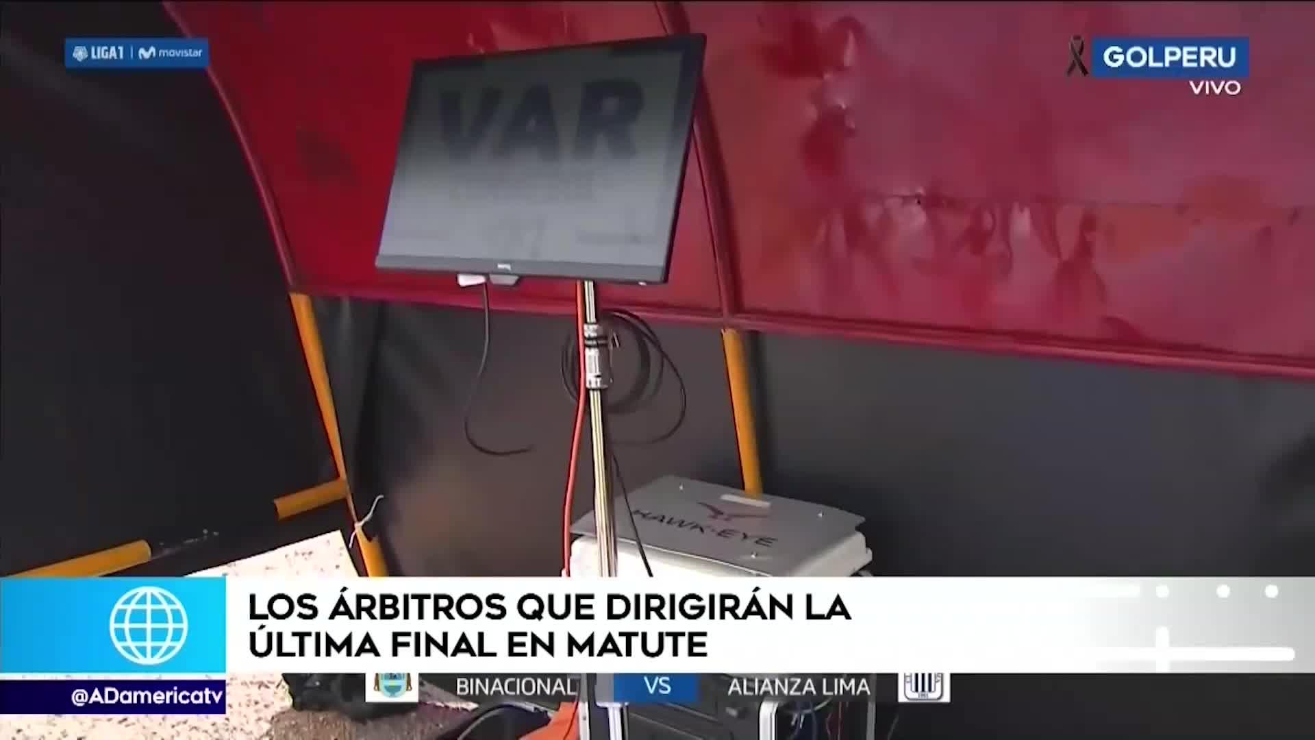 Alianza vs Binacional: El VAR tendrá árbitros extranjeros para la final en Matute