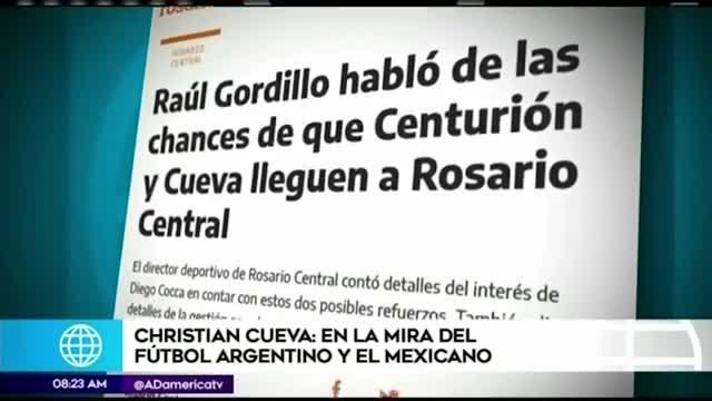 Christian Cueva es pretendido por clubes de Argentina y México