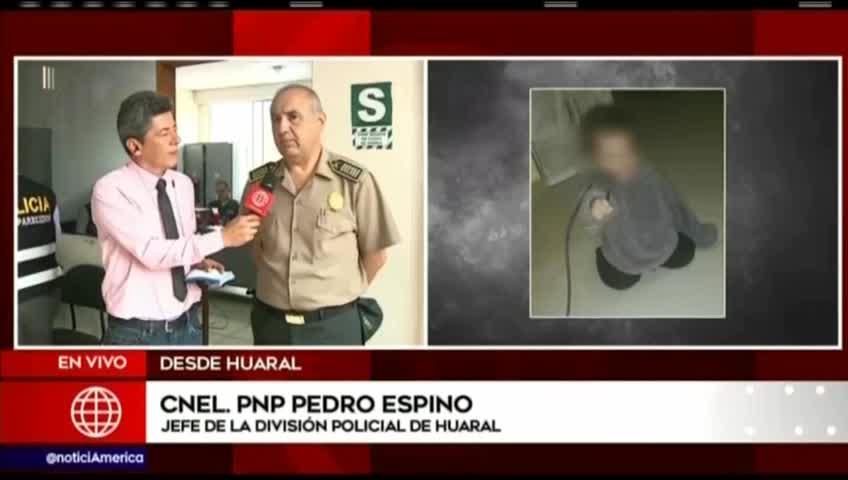 Policía halló en Huaral a bebe de 11 meses desaparecido en Ancón