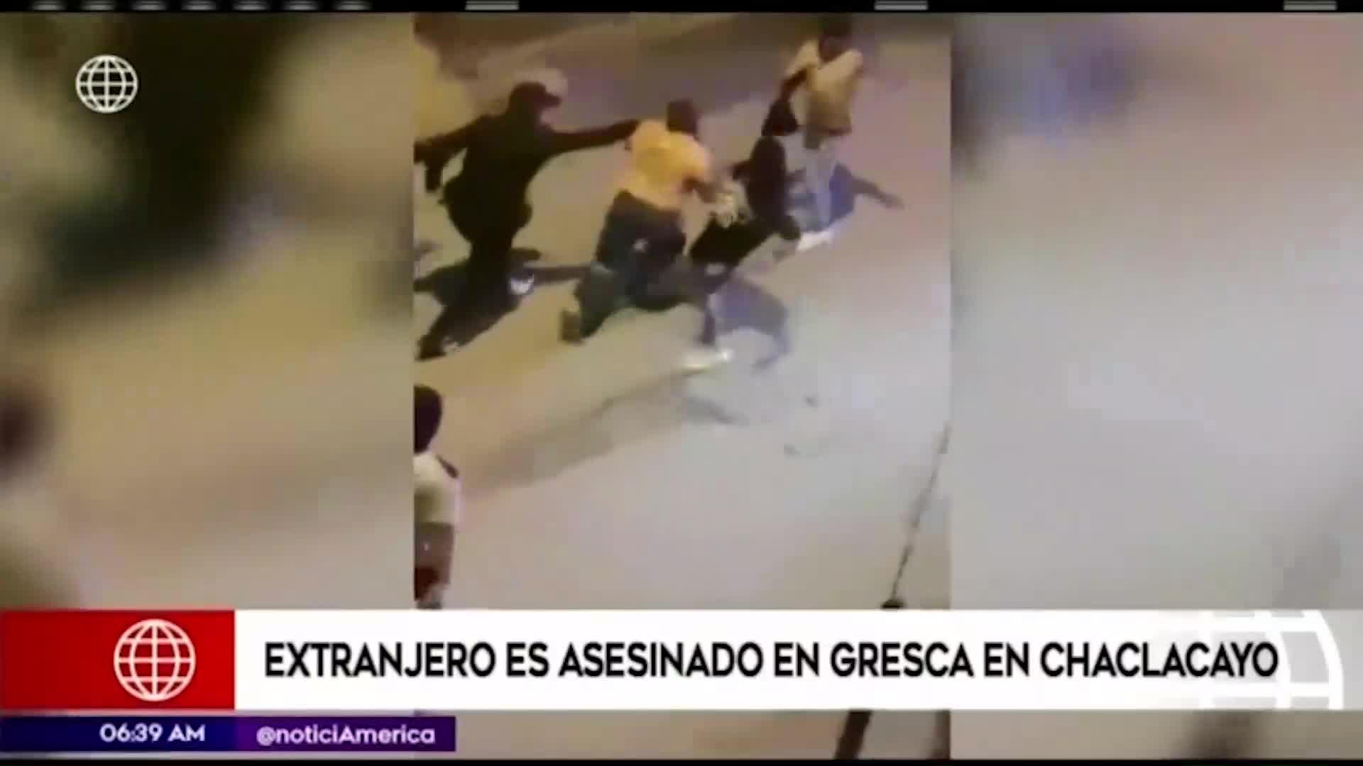 Ciudadano extranjero fue asesinado en Chaclacayo