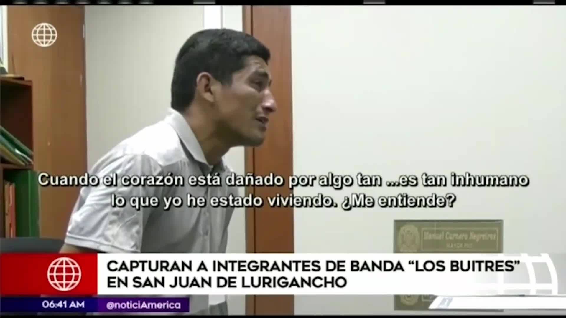 """San Juan de Lurigancho: capturan a dos integrantes de la banda """"Los Buitres"""""""