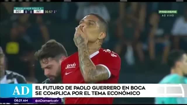 Boca Juniors desistiría en contratar a Paolo Guerrero por temas económicos