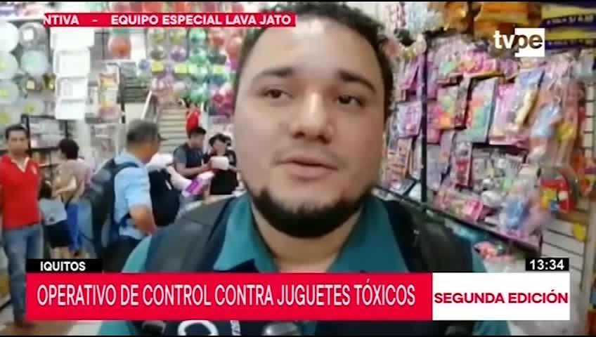 Realizan operativo contra juguetes tóxicos en Iquitos
