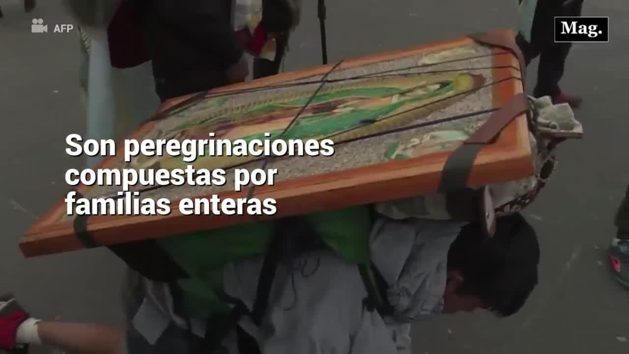 Día de la Virgen de Guadalupe: La peregrinación más grande de América Latina