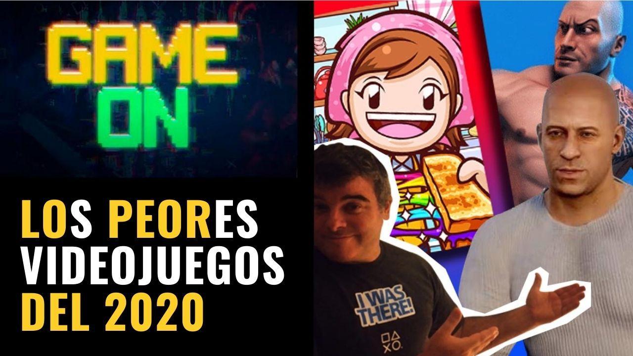 Los peores videojuegos del 2020