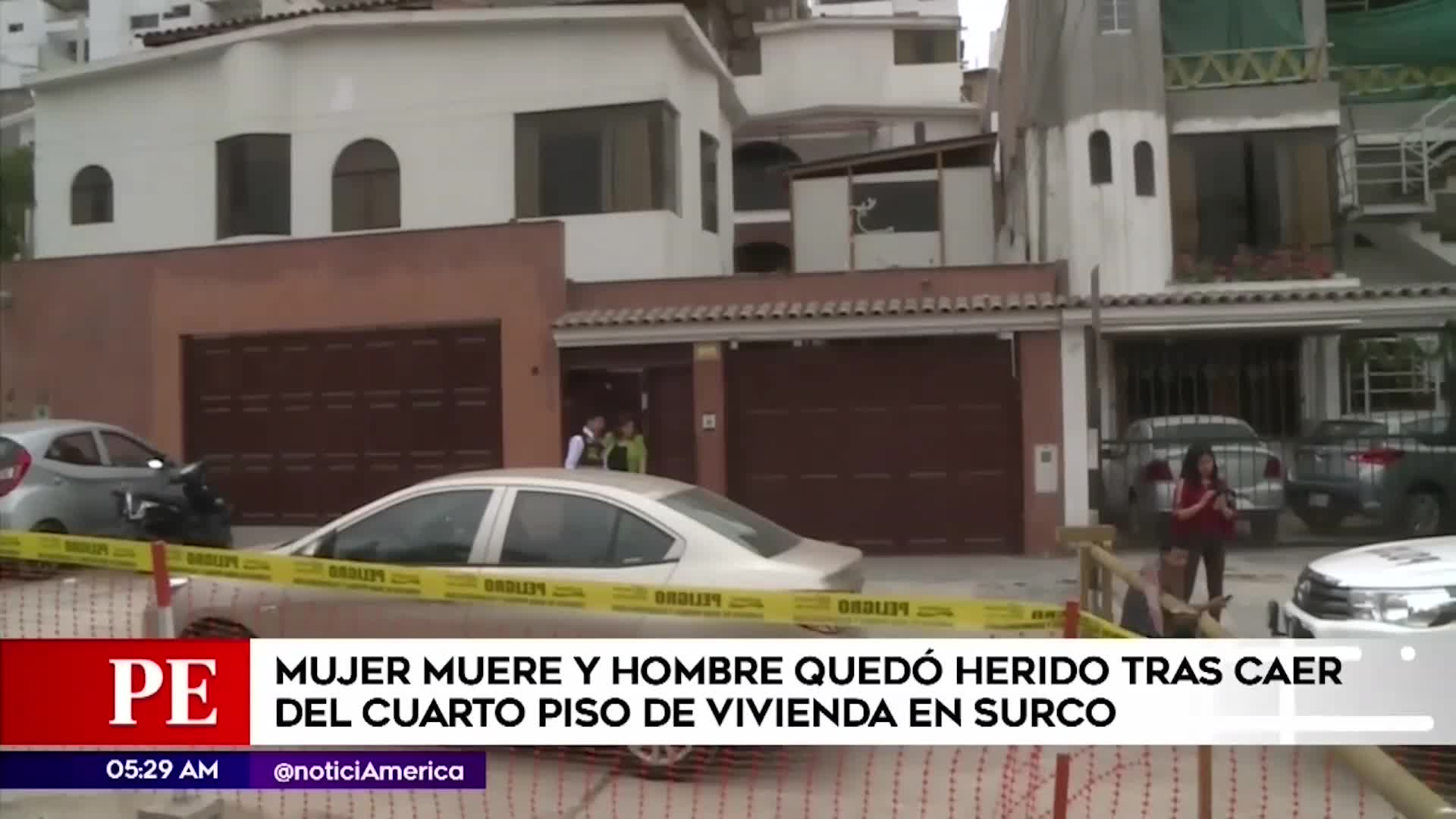 Surco: Mujer murió tras caer de cuarto piso de la casa que alquilaba en Monterrico
