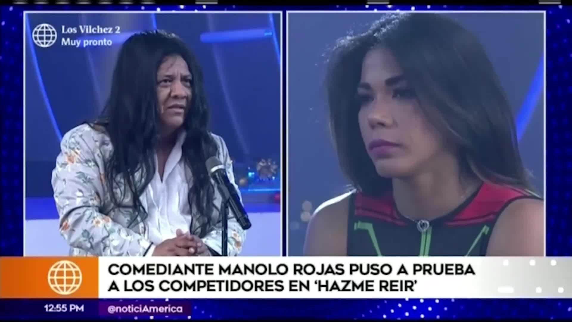 """EEG: Mira aquí la participación de Manolo Rojas en """"Hazme reir"""""""