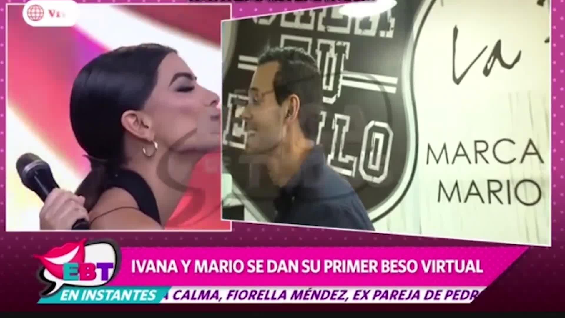Ivana Yturbe y Mario Irivarren confirmaron su reconciliación con romántico beso