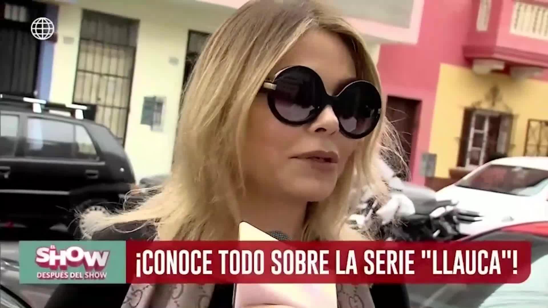 """ESDS: Gisela Valcárcel revela detalles de su nueva producción """"LLauca"""""""
