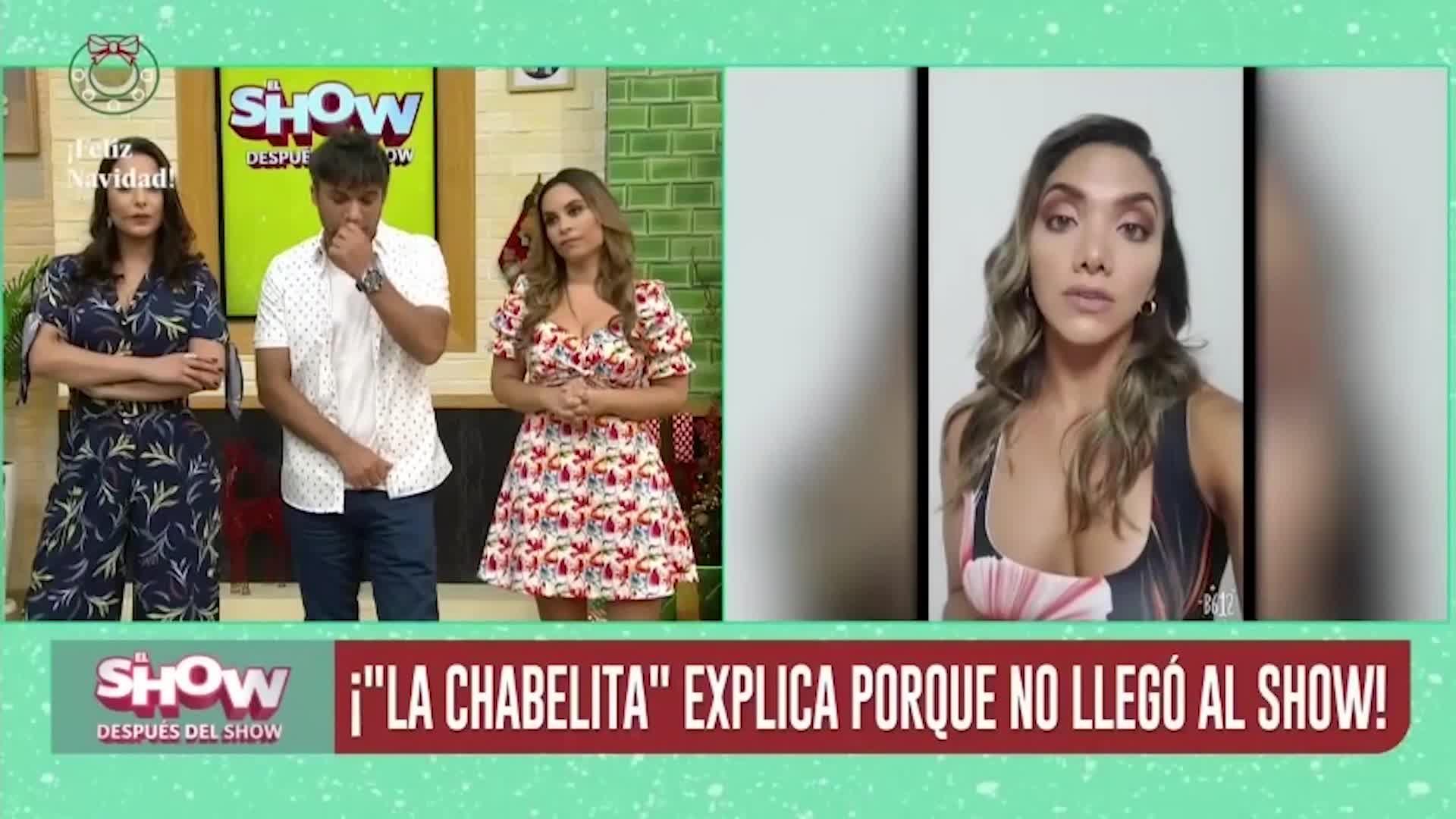 "Isabel Acevedo no asistió a ""El show después del show"" por esta razón"