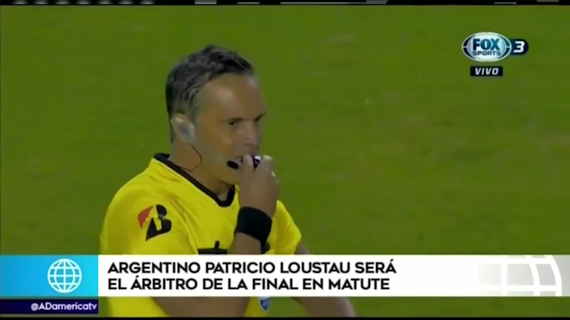 Patricio Loustau, el árbitro argentino que dirigirá la final entre Alianza Lima y Binacional