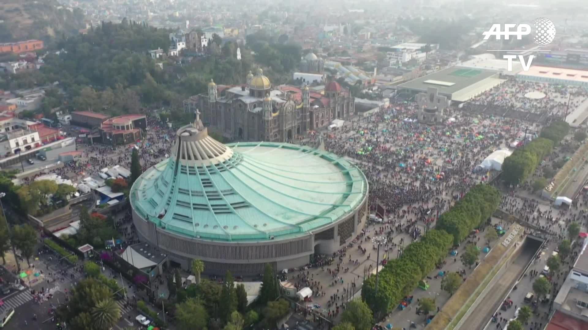 México: más de 10 millones de peregrinos homenajean a la Virgen de Guadalupe