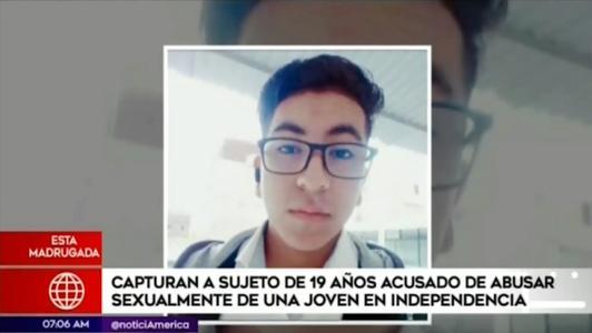 Capturan a sujeto acusado de violar a una joven en centro comercial de Independencia