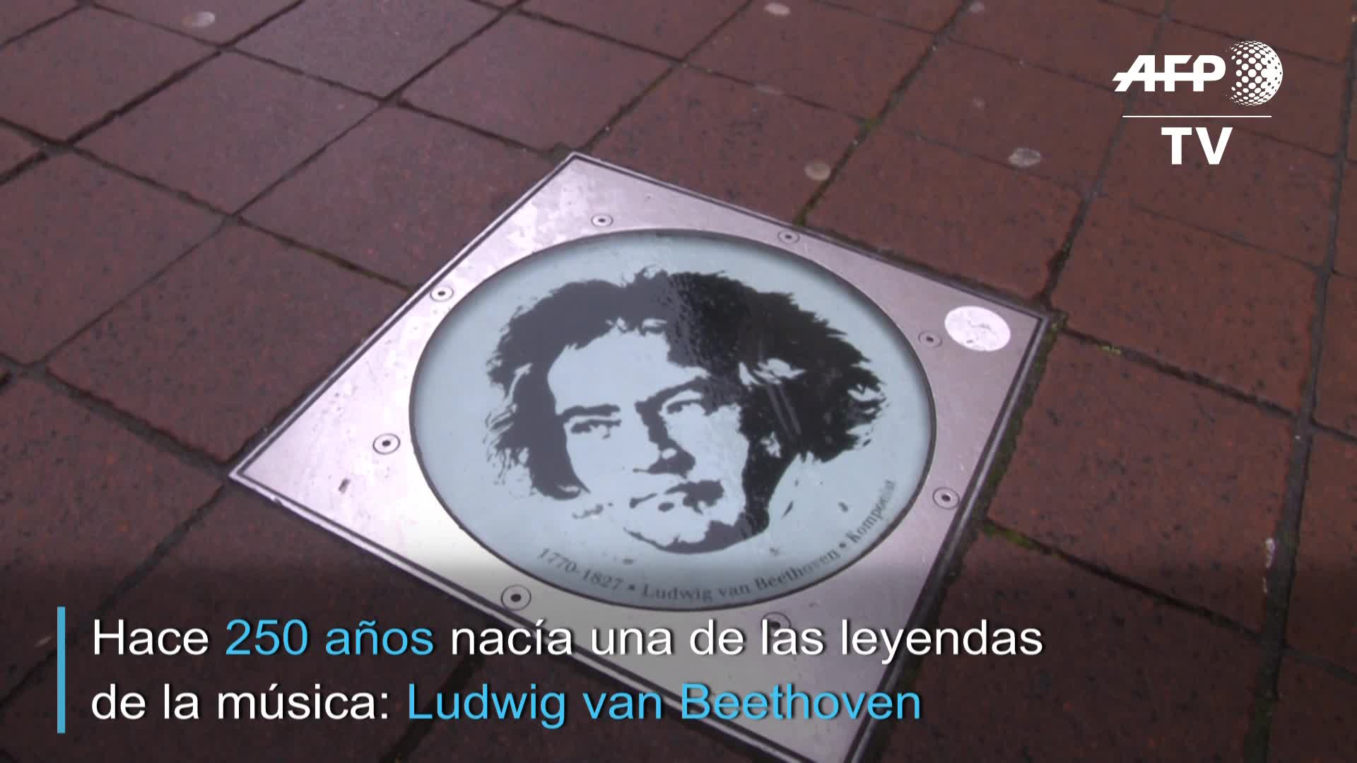 Reabren casa de Beethoven de Bonn por 250 aniversario del compositor