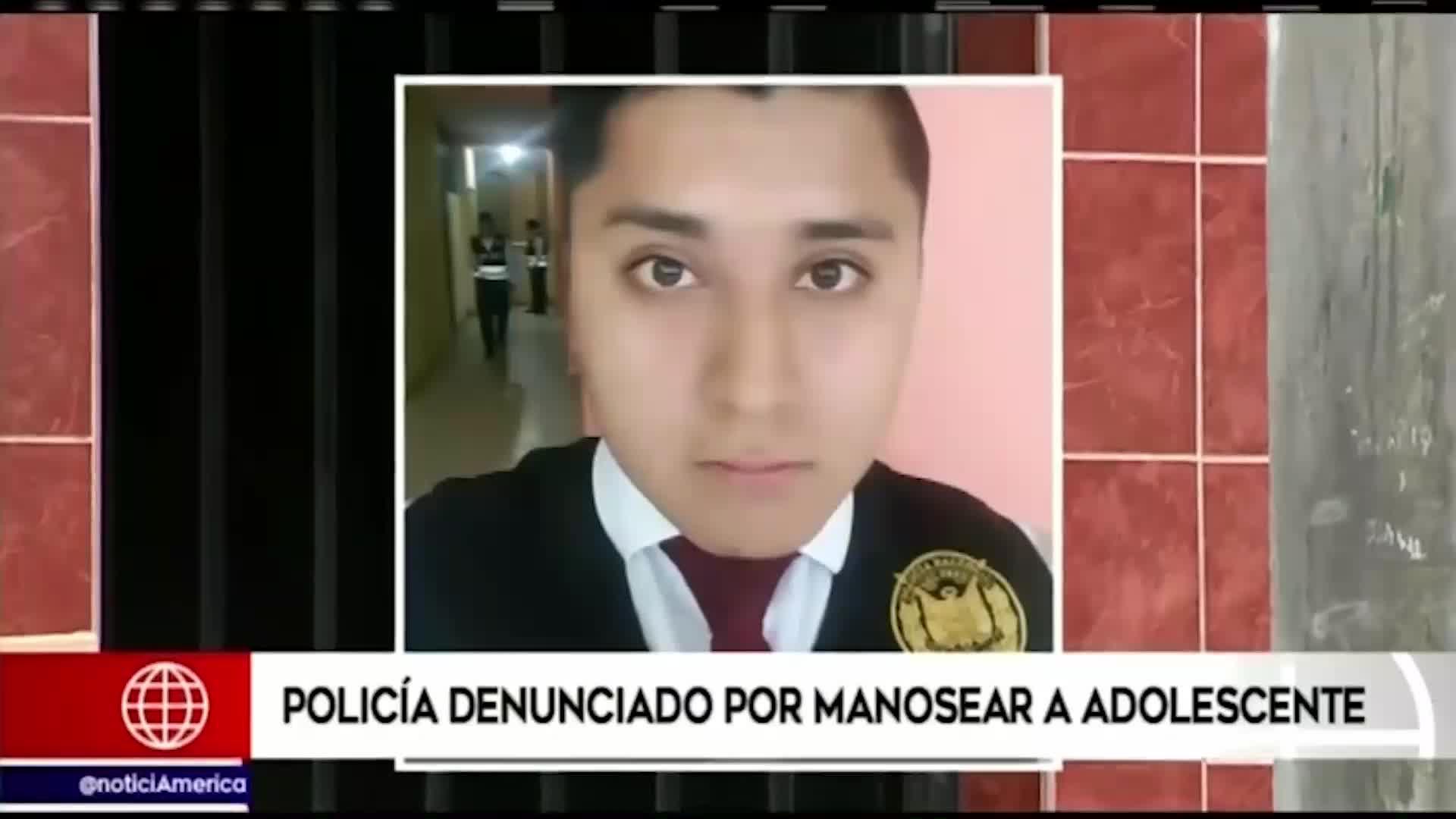 Ate: detienen a policía acusado de manosear a menor dentro de Depincri