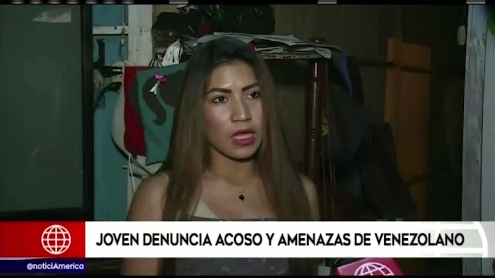 Mujer denuncia acoso y amenazas de muerte de ciudadano extranjero
