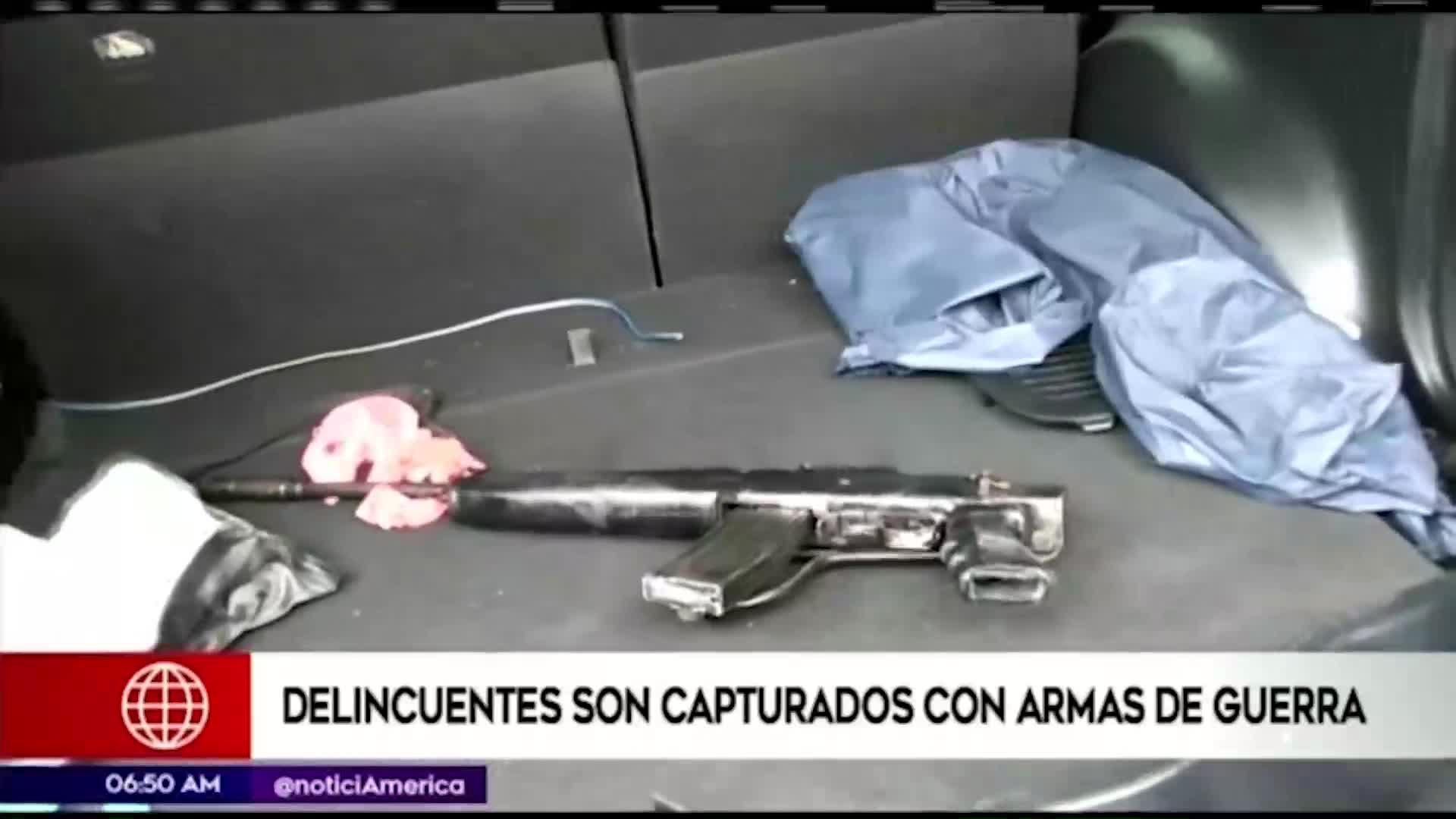 Sujetos utilizaban armas de fuego para atentar contra sus víctimas