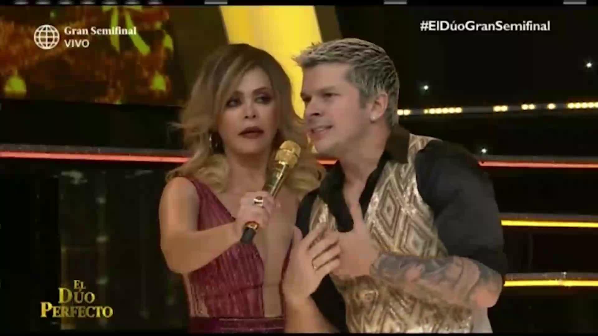'El dúo perfecto': Mario Hart le reclamó a Carlos Cacho por el bajo puntaje y tuvieron acalorada discusión