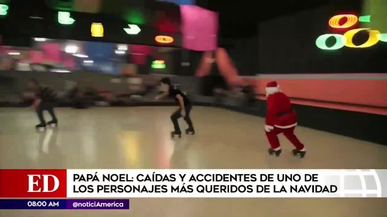 Mira las caídas más divertidas de Papa Noel