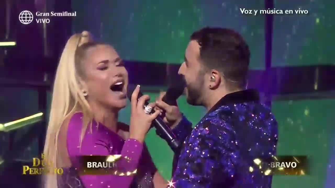 'El dúo perfecto': Dailyn Curbelo y Braulio Chappell rindieron grandioso homenaje a Nino Bravo