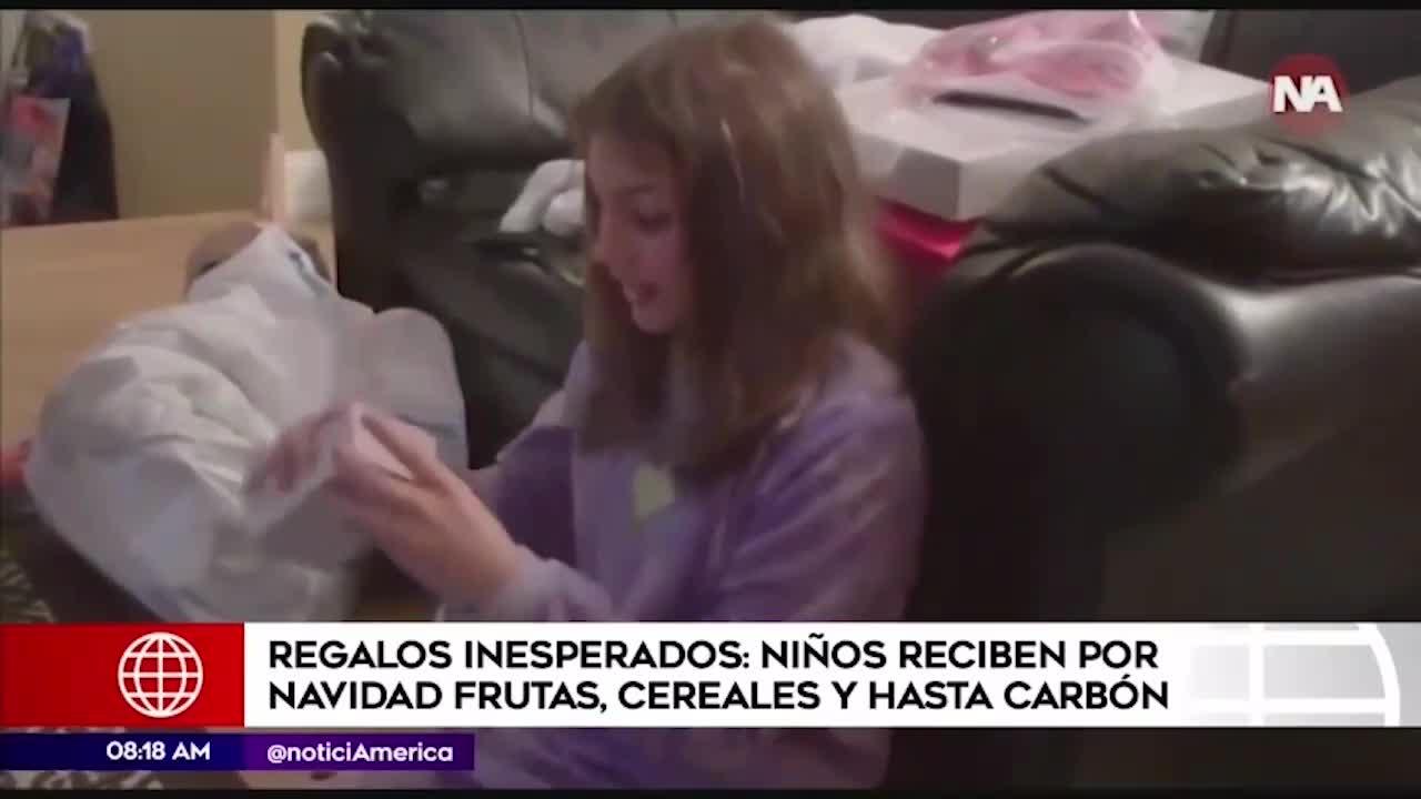 Divertidos videos de niños con inesperados regalos por Navidad
